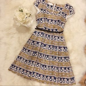 Anthropologie Dress with Belt.